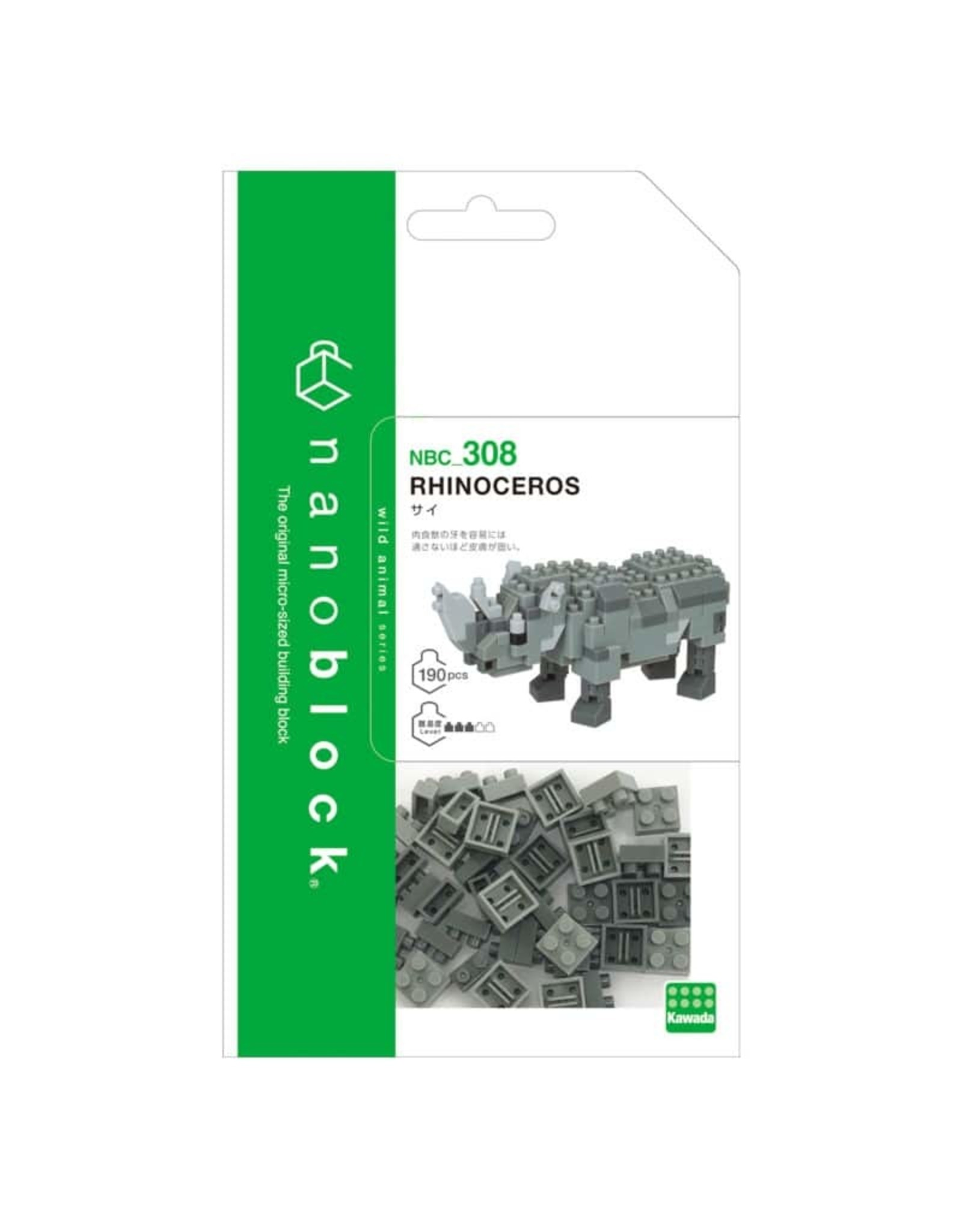 Nanoblock Rhinoceros