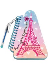 Notepad Mini with Pen - Eiffel Tower