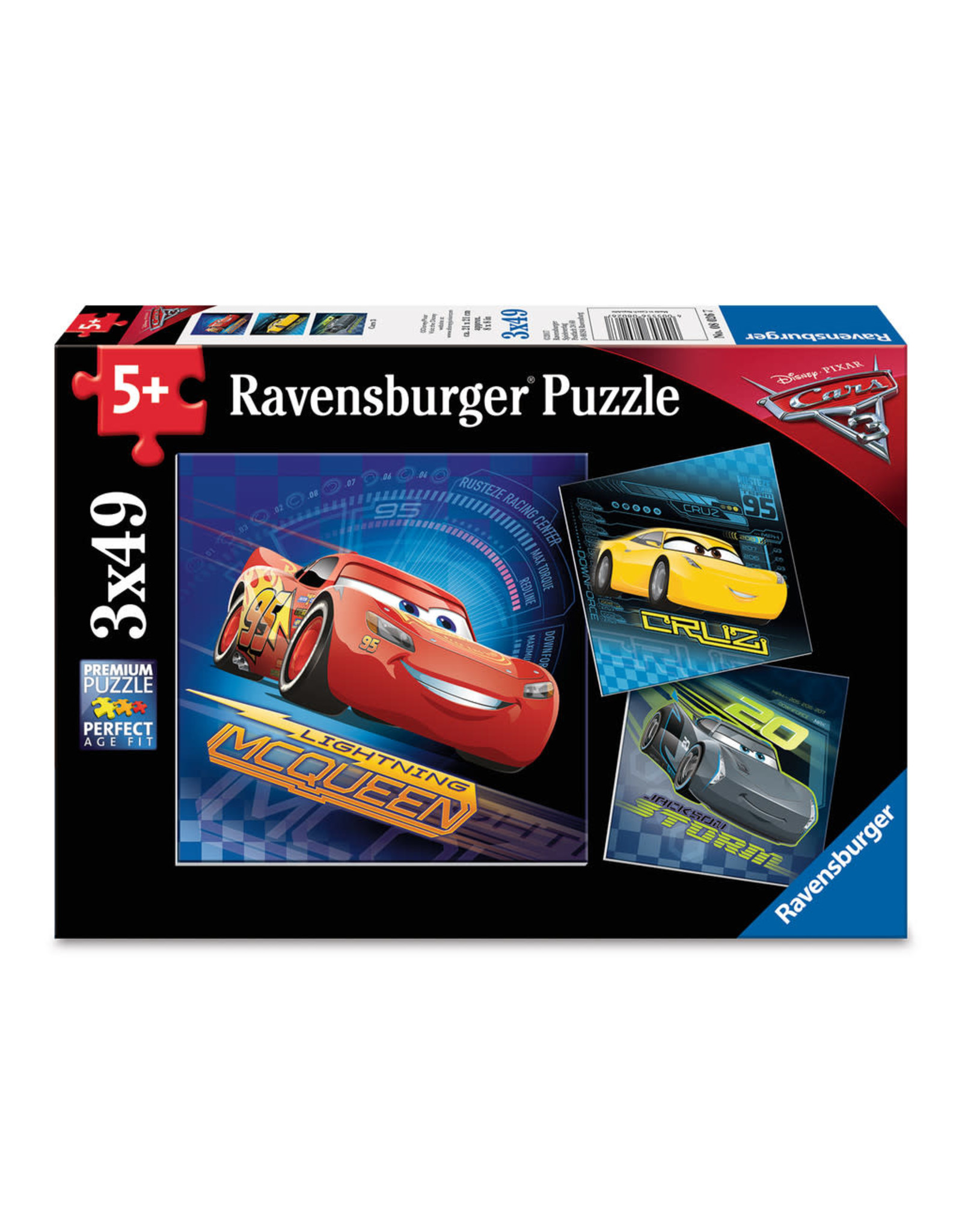 Ravensburger Cars 3 3x49 pc