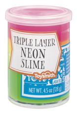 Toysmith Triple Layer Neon Slime