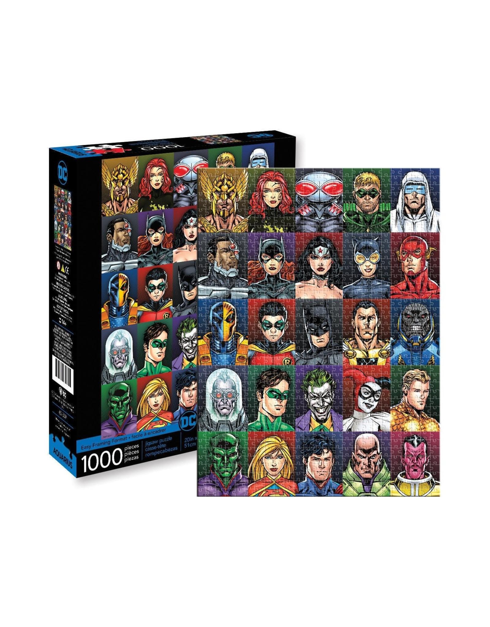 DC Faces 1000pc