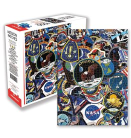 NASA Mission Patches 1000pc