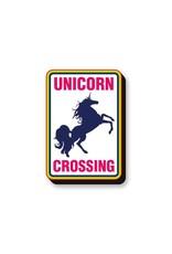 Unicorn Crossing Funky Chunky Magnet