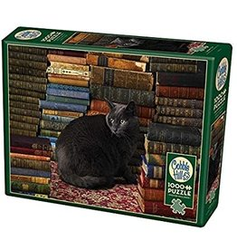 Cobble Hill Library Cat 1000 pc