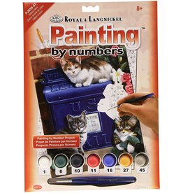 Royal & Langnickel Paint by Number: Mailbox Kittens