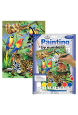 Royal & Langnickel Paint by Number: Jungle Scene