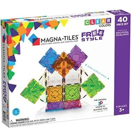 Magna-Tiles Magna-Tiles X FreeStyle 40pc