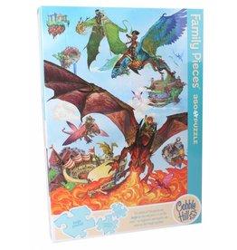 Cobble Hill Dragon Flight 350 pc Family Puzzle