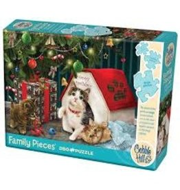 Cobble Hill Happy Pawlidays 350 pc Family Puzzle