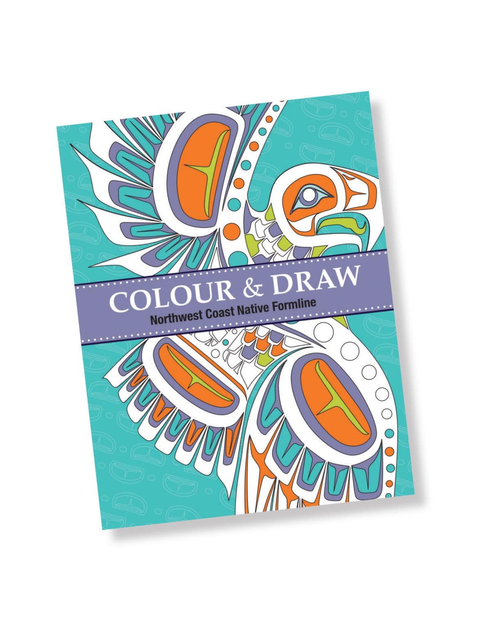 Colour & Draw - Northwest Coast Native Formline