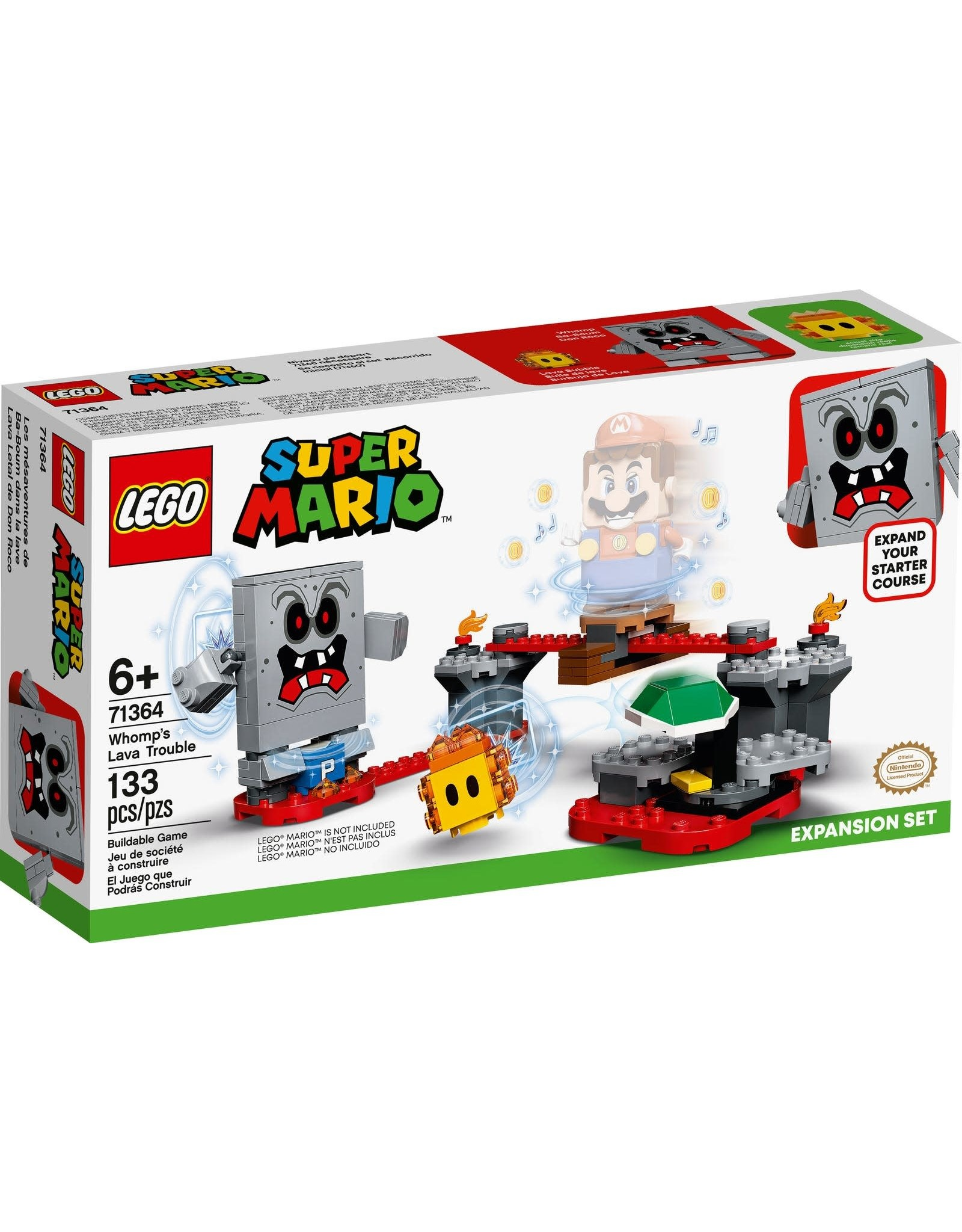Lego Whomp's Lava Trouble Expansion Set
