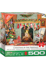 Eurographics Christmas by the Fireplace 500 pc
