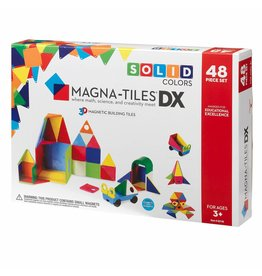 Magna-Tiles Magna-Tiles Solid Colors DX 48 pc