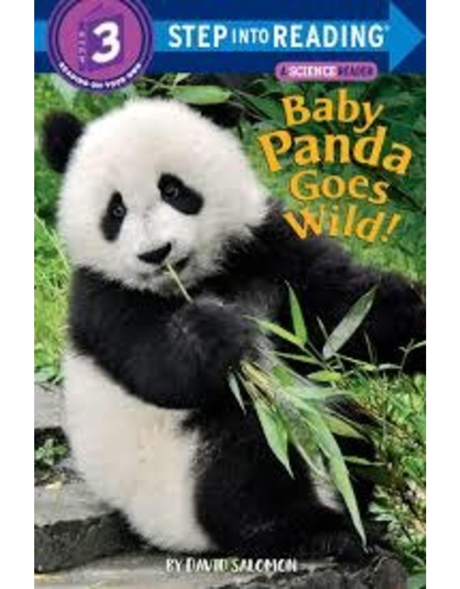 Step Into Reading Baby Pandas Go Wild!  S3