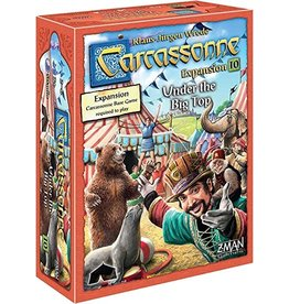 Z Man Games Carcassonne Expansion 10: Under the Big Top
