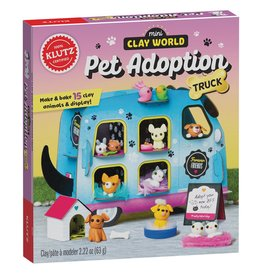 Klutz Klutz: Mini Clay World Pet Adoption Truck