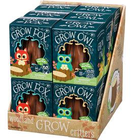 Toysmith Grow Fox & Owl