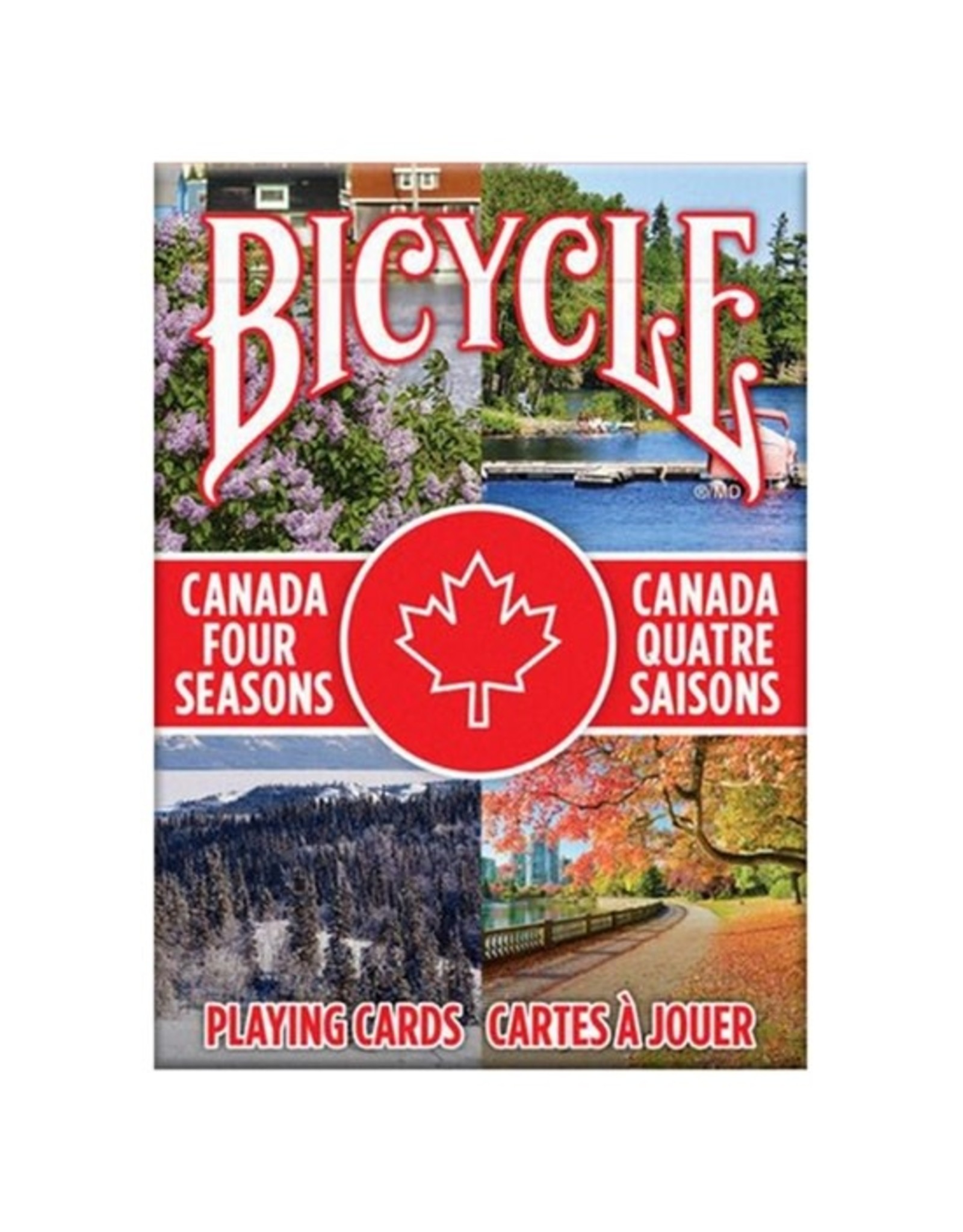 Bicycle Canada Four Seasons Cards