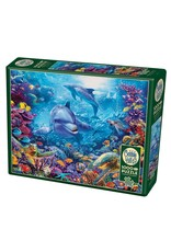 Cobble Hill Dolphins at Play 1000 pc