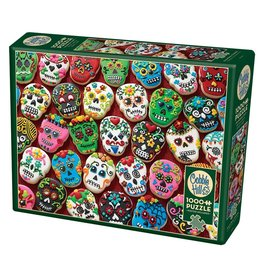 Cobble Hill Sugar Skull Cookies 1000 pc