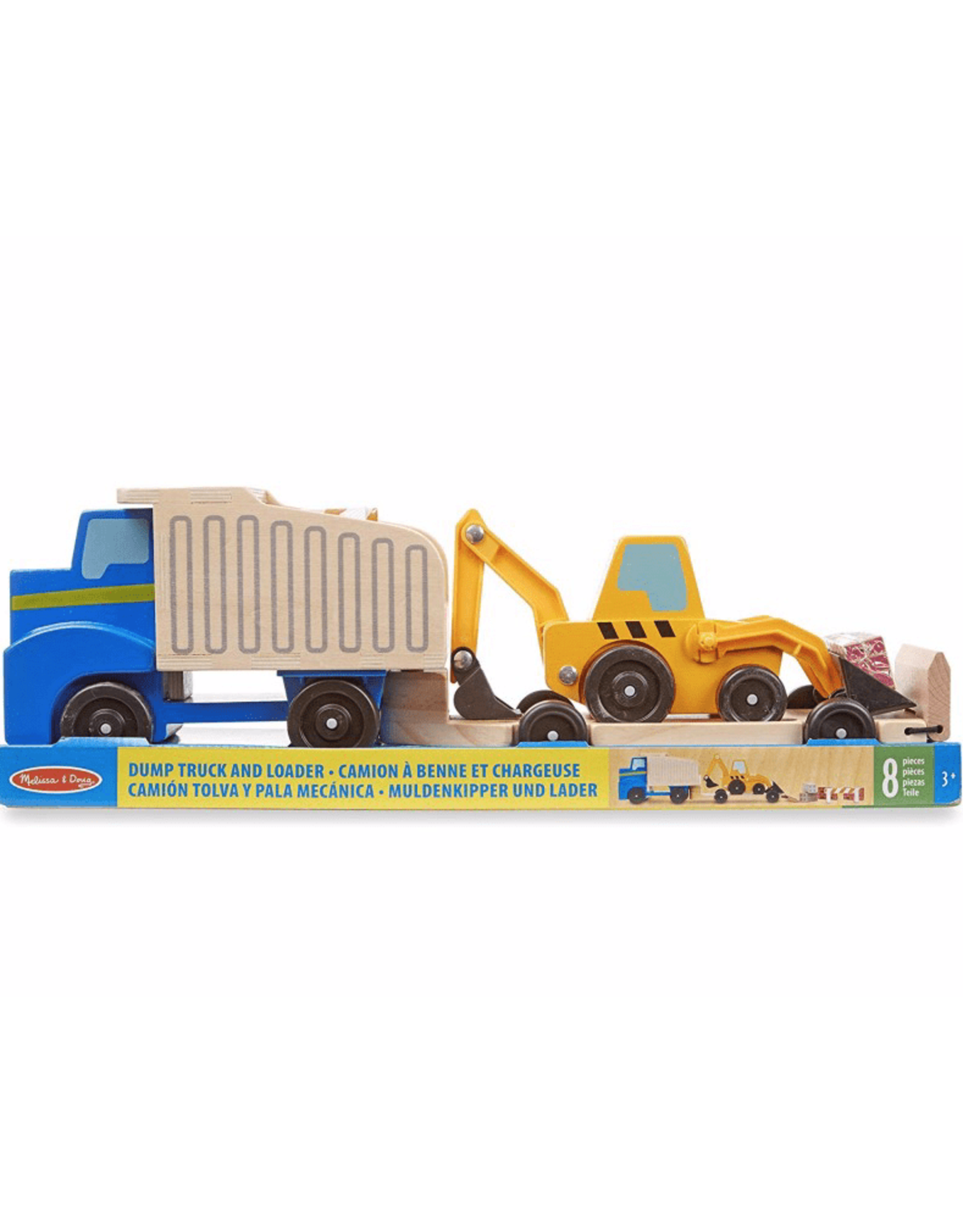 Melissa & Doug Melissa & Doug: Dump Truck & Loader