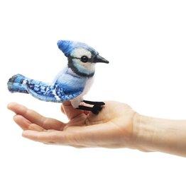 Folkmanis Folkmanis Mini Blue Jay Finger Puppet
