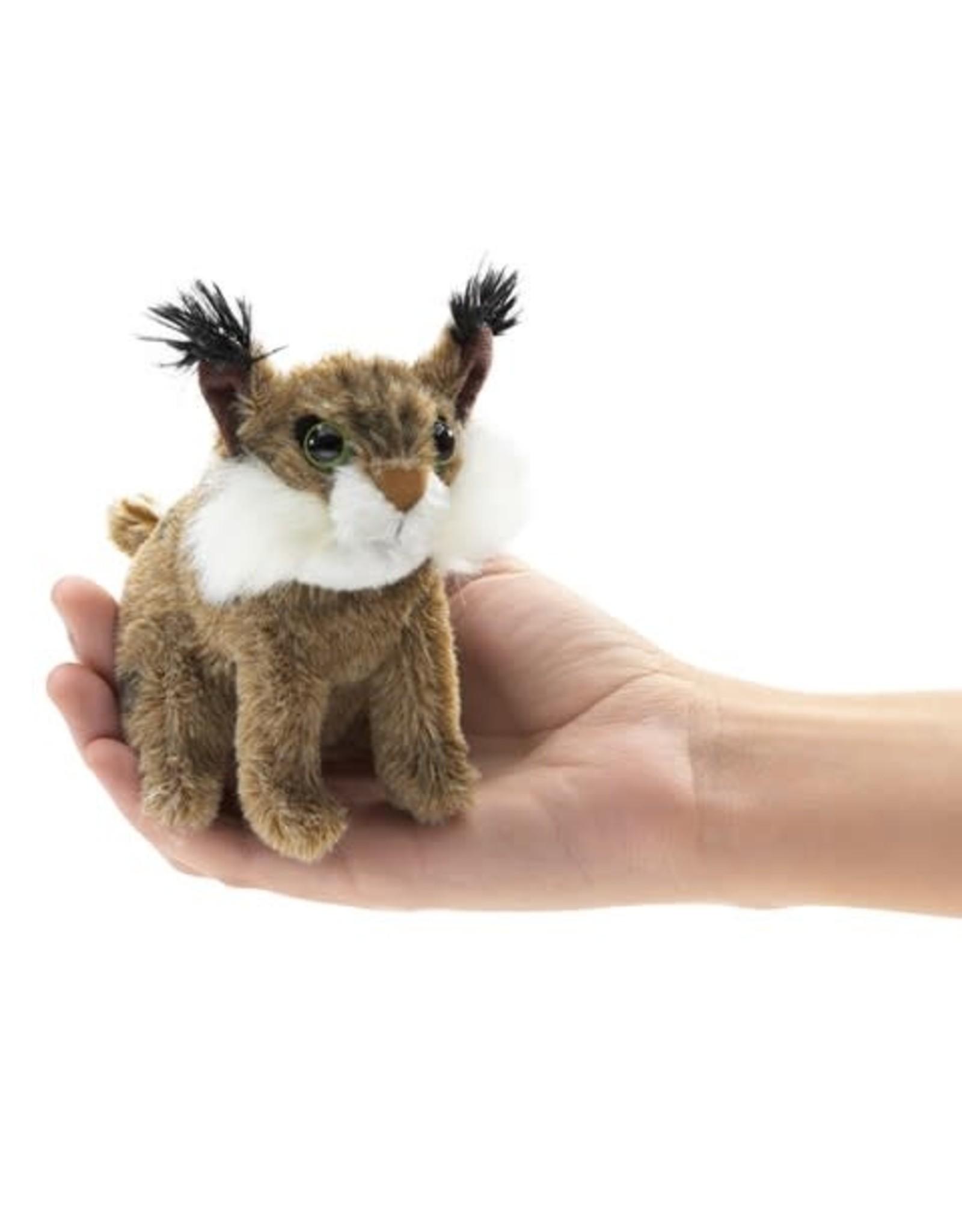 Folkmanis Folkmanis Mini Bobcat Finger Puppet