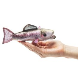 Folkmanis Folkmanis Mini Rainbow Trout Finger Puppet