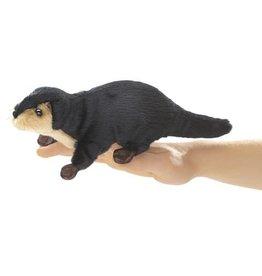 Folkmanis Folkmanis Mini River Otter Finger Puppet