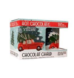 Gourmet Village Retro Red Truck Mug Kit