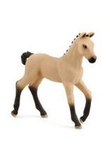 Schleich Hanoverian Foal Red Dun