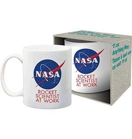 NMR NASA Rocket Scientist Boxed Mug
