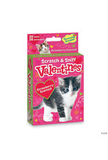 Peaceable Kingdom Kitty Scratch & Sniff Valentines