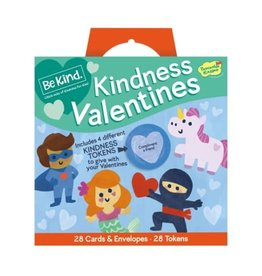 Peaceable Kingdom Be Kind Kindness Valentines Super Pack