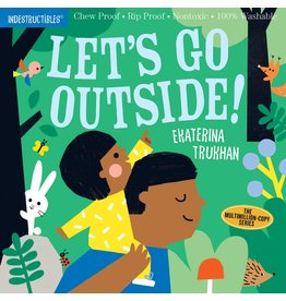 Indestructibles Book: Let's Go Outside!