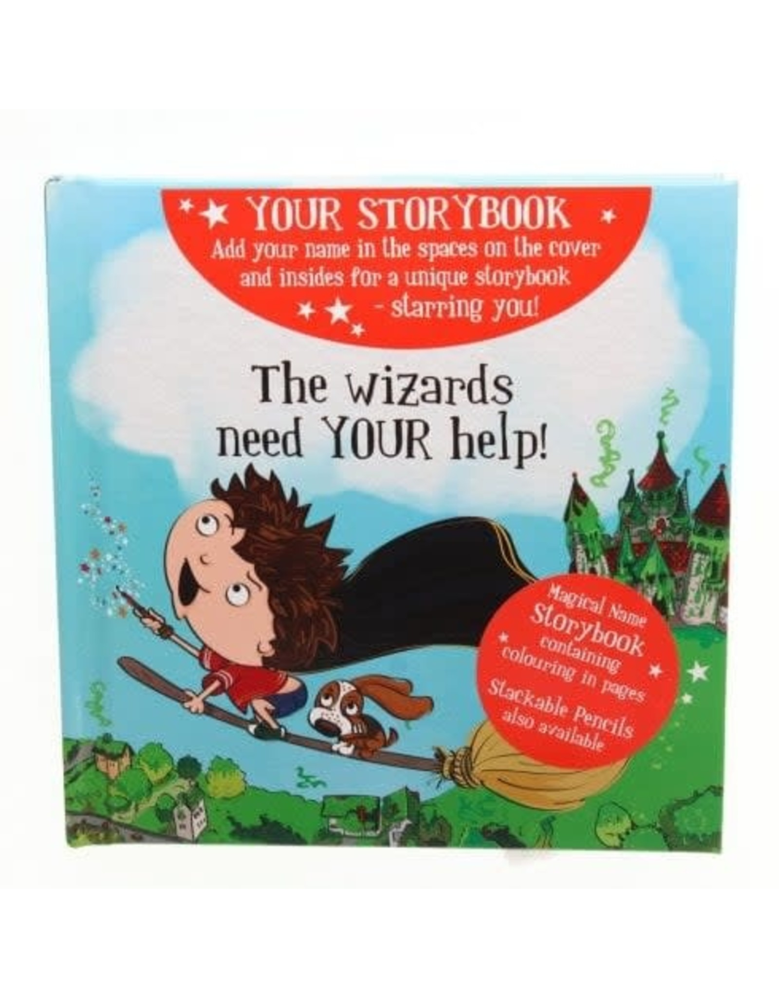 History & Heraldry Magical Name Story Book - Blank