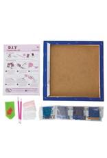 D.I.Y Crystal Art Kit Crystal Art Medium Framed Kit - Cat