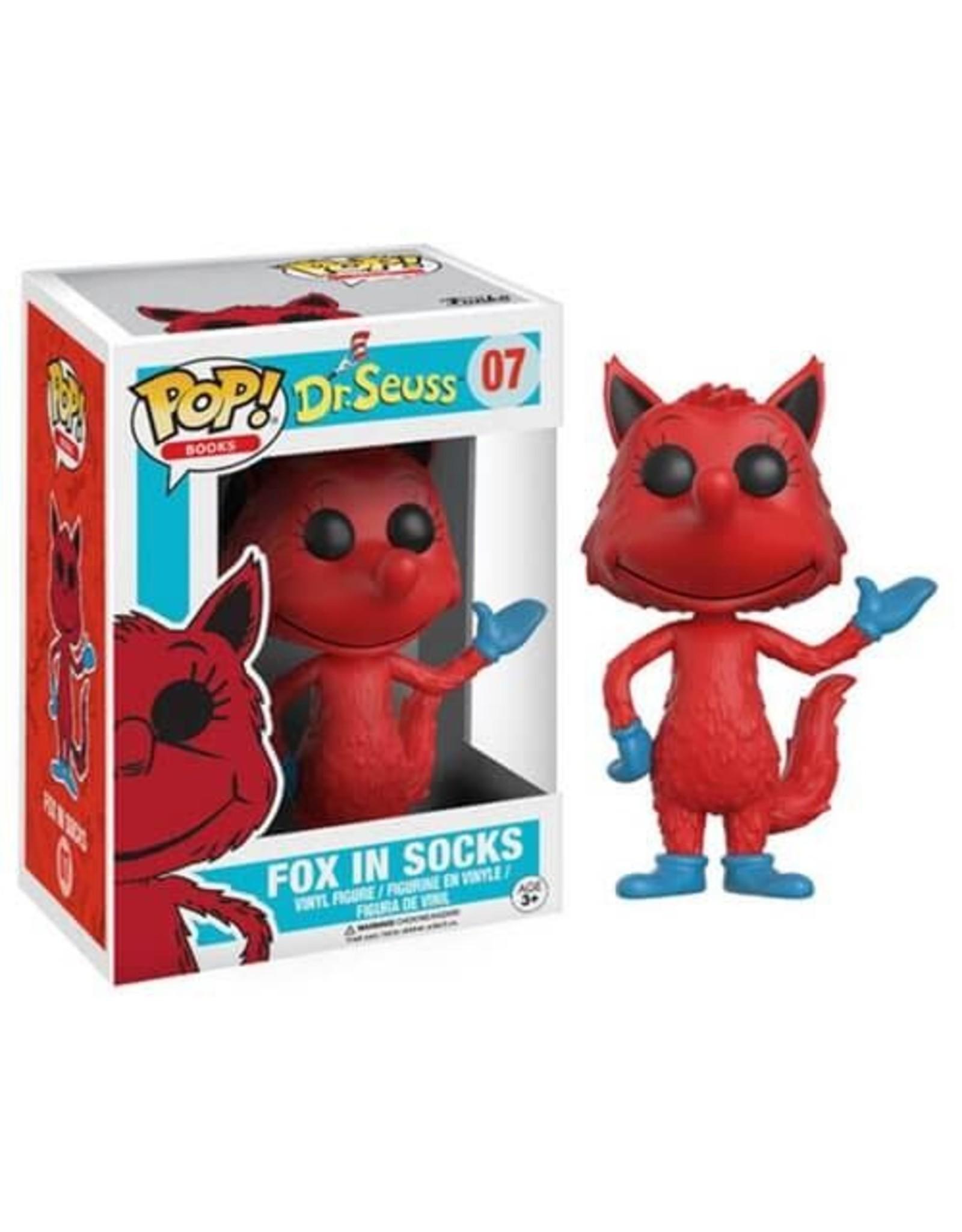 Funko Pop Vinyl Dr Seuss Fox in Socks