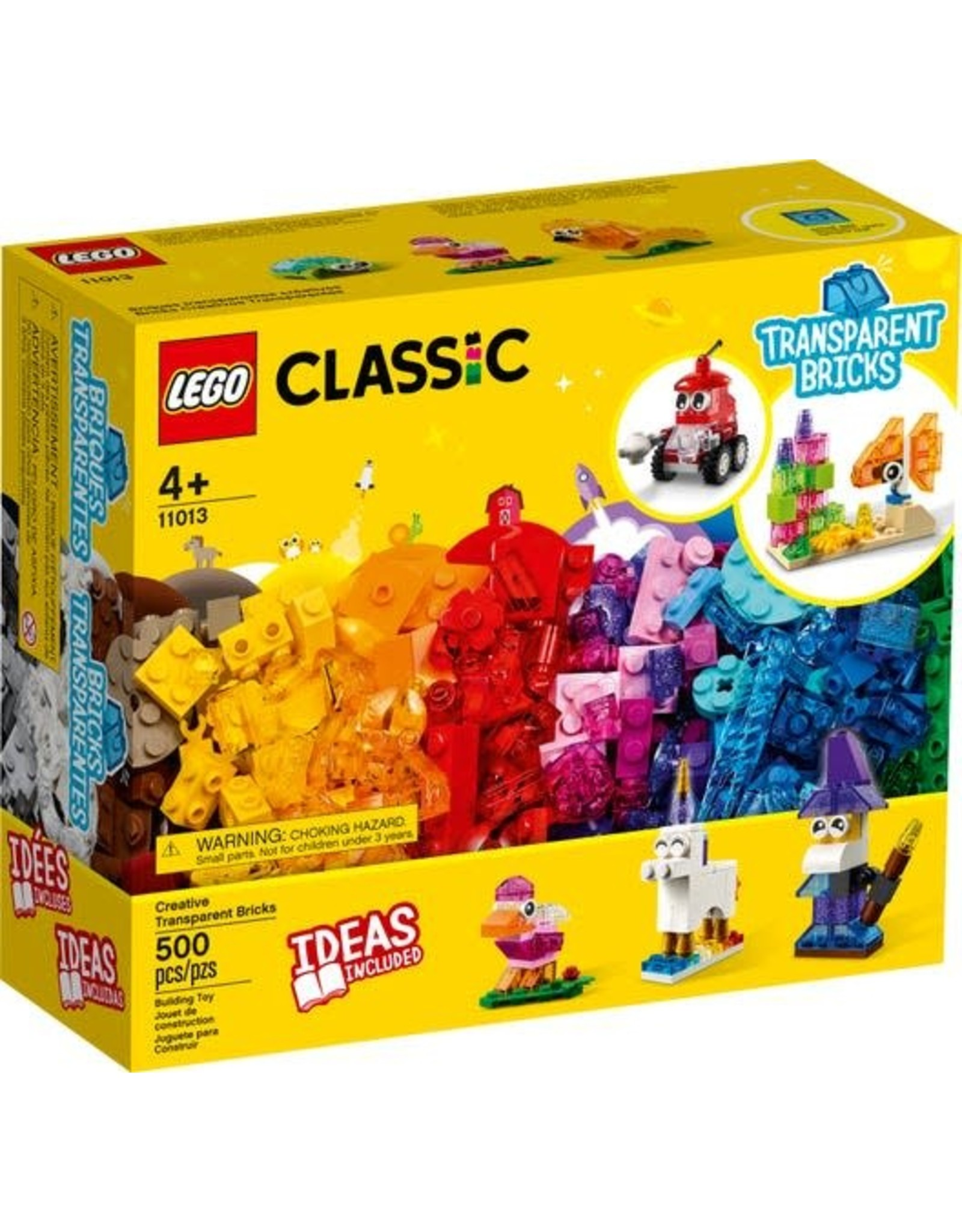 Lego Creative Transparent Bricks