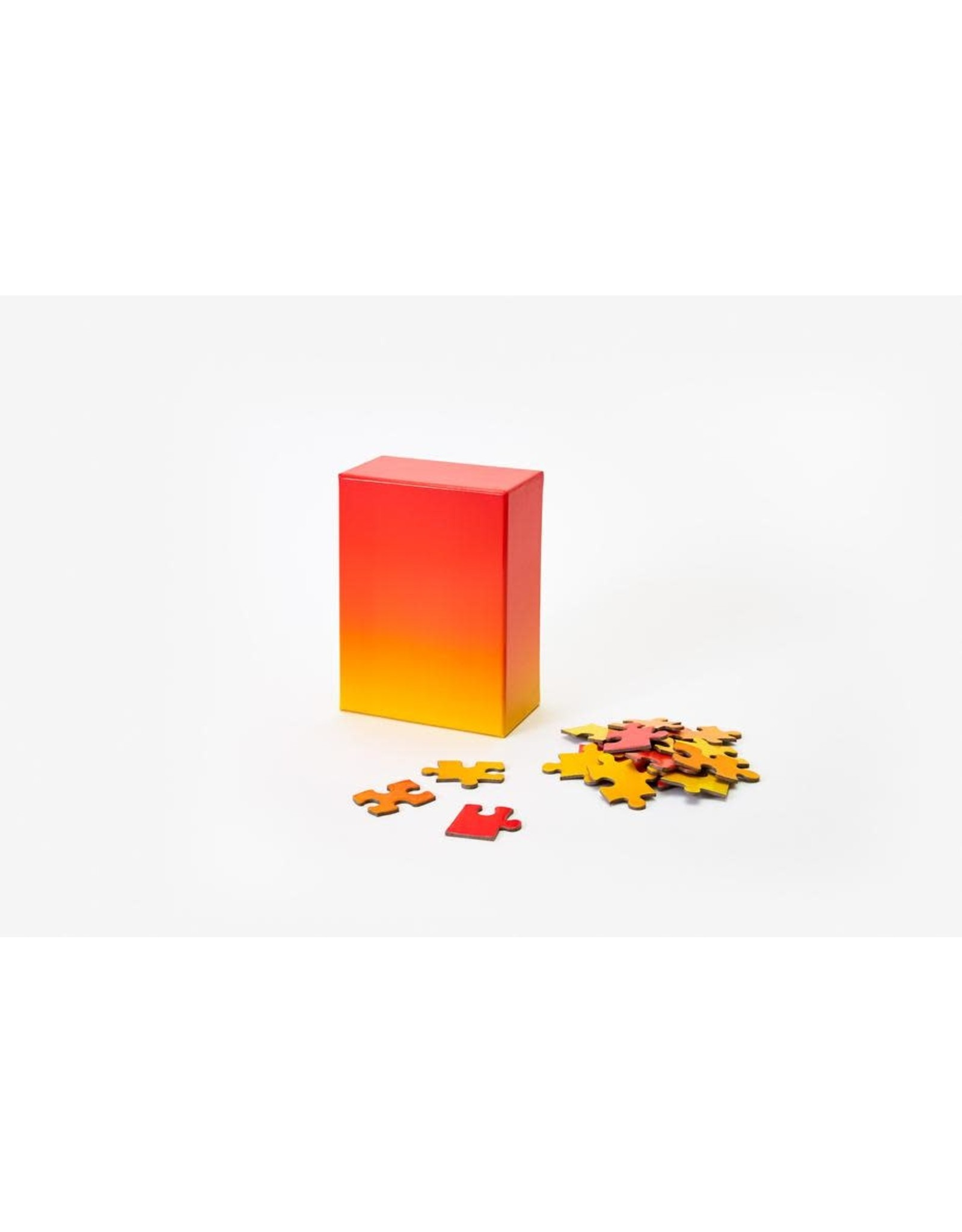 Gradient Puzzle - Red/Yellow 100pc
