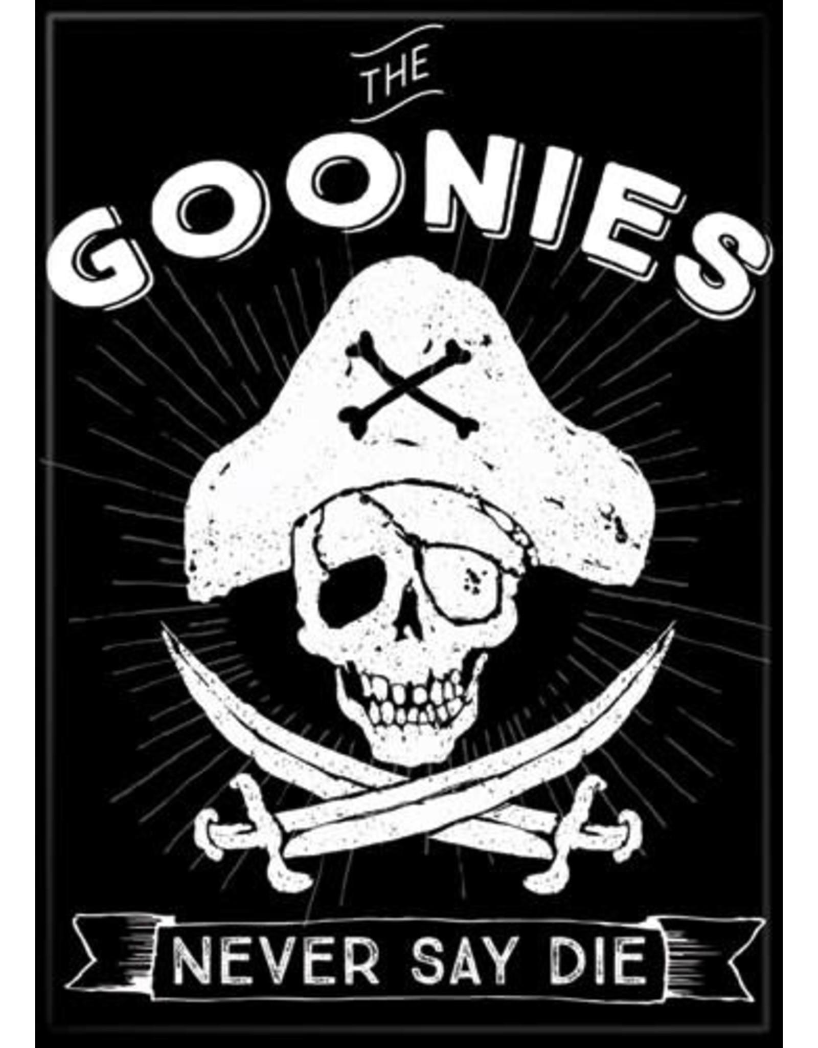 Goonies Never Say Die Black Flat Magnet
