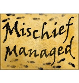 Harry Potter Mischief Managed Flat Magnet