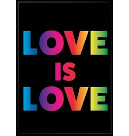 WTIA Love is Love Flat Magnet
