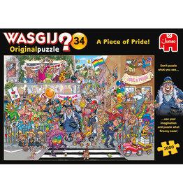 Jumbo Wasgij Original #34/ A piece of pride! 1000 pc