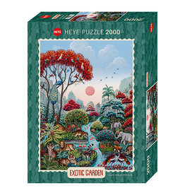 Heye Exotic Garden/ Wildlife Paradise 2000 pc