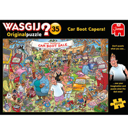 Jumbo Wasgij Original #35/ Car Boot Capers! 1000 pc