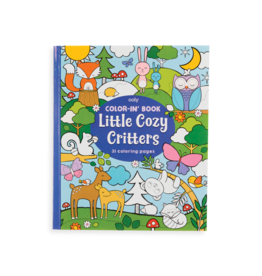Ooly Coloring Book - Little Cozy Critters