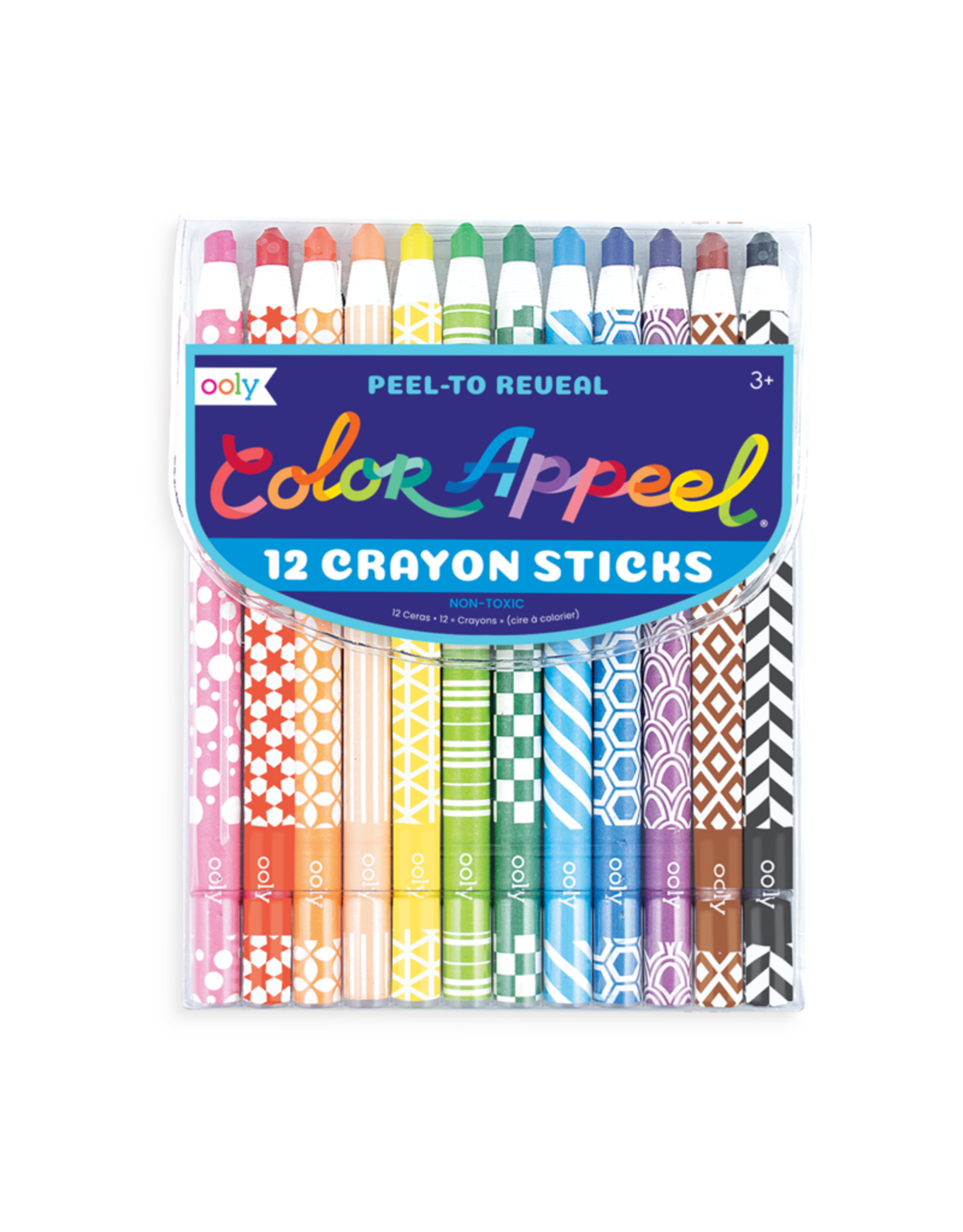 Ooly Color Appeal Crayons - Set of 12