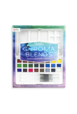 Ooly Chroma Blends Travel Watercolor Palette - 27 pc Set