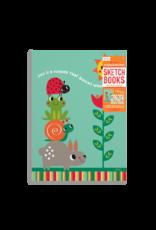 Ooly Doodle Pad Duo Sketchbooks: Sunshine Garden - Set of 2